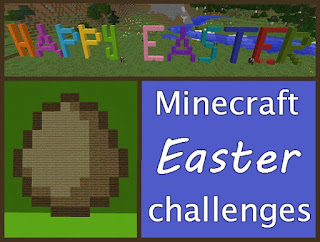 Minecraft Easter challenge ideas