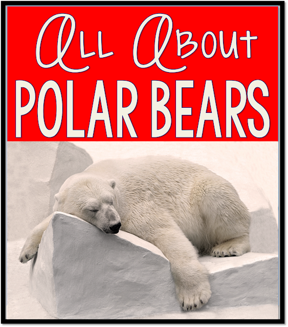 All About Polar Bears, videos, books, songs resources for kindergarten