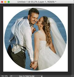 Cara membuat label dvd dengan photoshop