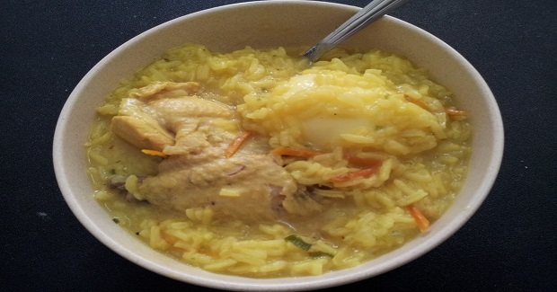 Chicken Arroz Caldo Recipe