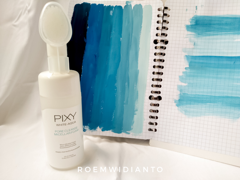 Pixy White Aqua Pore Cleanse Micellar Foam
