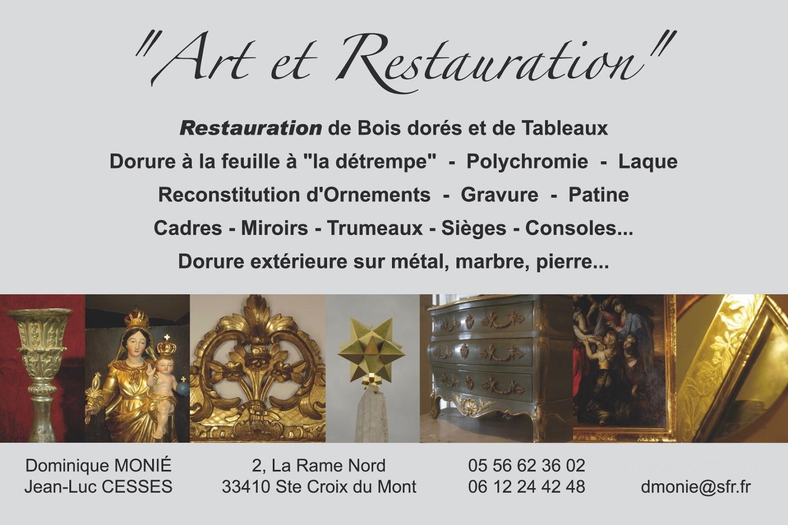Atelier Art Et Restauration Carte De Visite