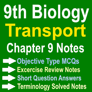 Chapter Wise Solved Punjab Board Federal Board Notes Biology class 9th