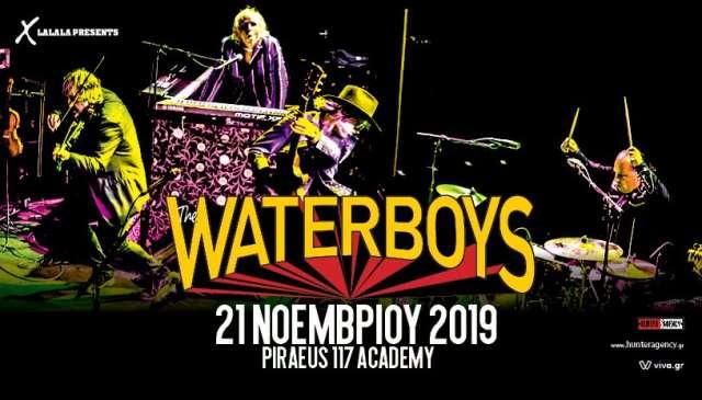THE WATERBOYS: Πέμπτη 21 Νοεμβρίου @ Πειραιώς 117 Academy
