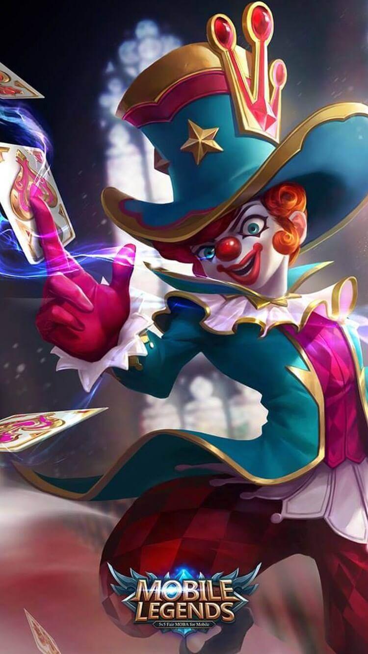Wallpaper Harley Naughty Joker Skin Mobile Legends HD for Mobile - Hobigame.net