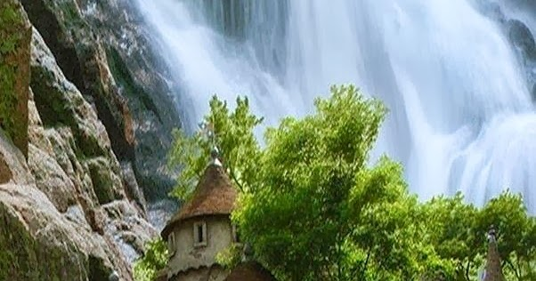 Waterfall Castle In Poland A1 Pictures