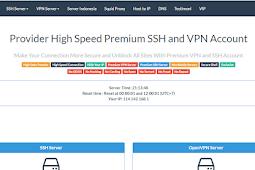 Cara Membuat SSH Support SSL / TLS Premium Gratis