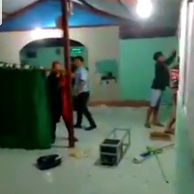GP Ansor Berang Mushola di Kawasan Minoritas Dirusak