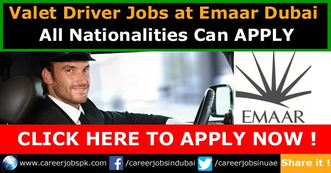 Valet Driver Jobs in Dubai 2017 - Latest Jobs in Dubai 2017 ...
