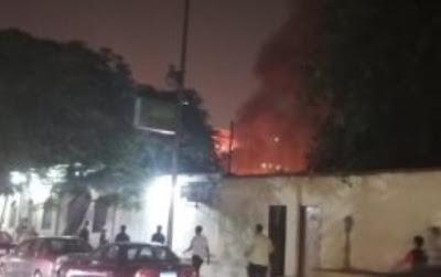 بالفيديو : لحظة انفجار بمحيط معهد الأورام في منطقة المنيل وسط مدينة القاهرة
