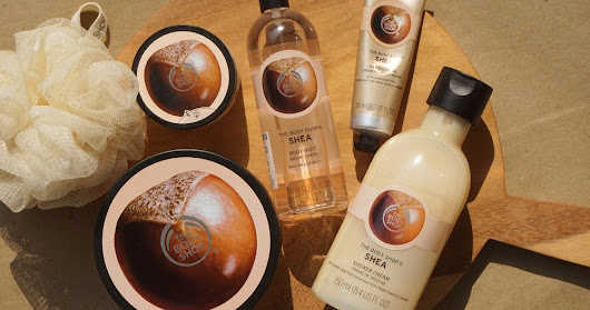 The Body Shop SHEA Body Butter, Shower Cream, Scrub, Body Mist, and Hand Cream Review