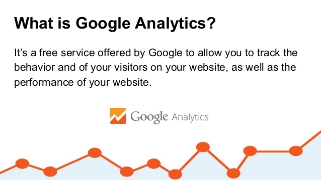 google analytic graph