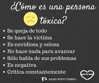 """""""Como es una persona toxica"""" - Imagen"""