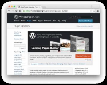 Tạo Landing Page với Wordpress CMS và Instabuilder Plugins