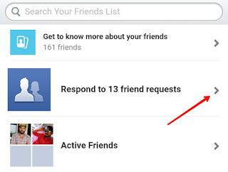 Meri Facebook request ko kisne reject kiya kaise pata karu
