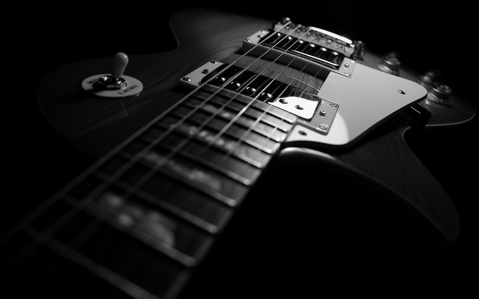 Wallpaper Guitar Dark Hd Music 6405: Best Wallpaper Collection: Best Black And White Wallpapers