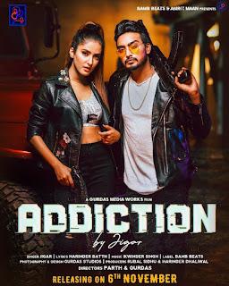 Addiction Jigar New song listen online DjPunjab