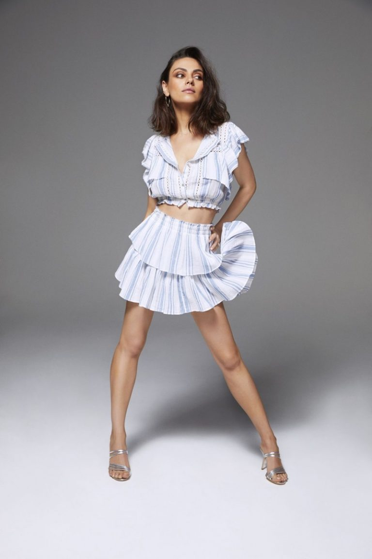 Mila Kunis for Cosmopolitan August 2018