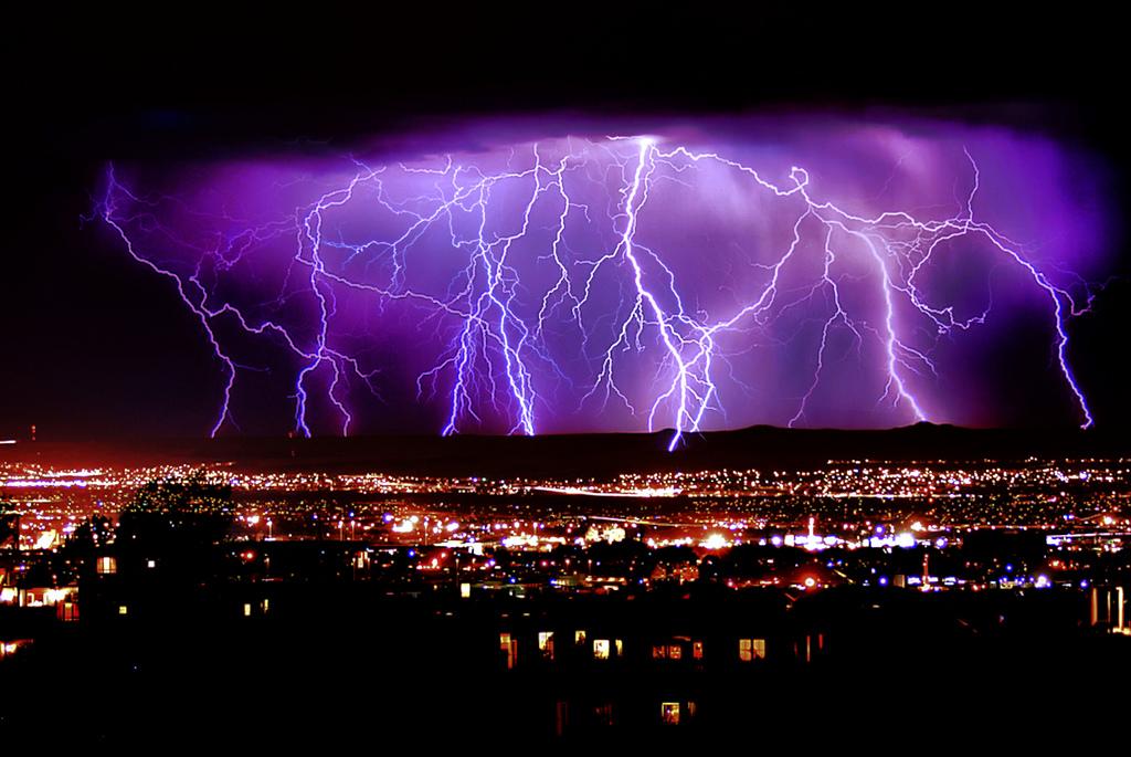 lightning strike wallpaper-#39