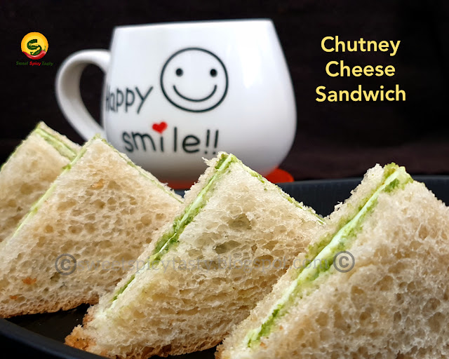 Chutney cheese sandwich is very easy to assemble and absolutely a child's  play . They can be served as finger foods at kid's birthday parties or even at kitty parties or get togethers, cheese sandwich, mumbai street food cheese sandwich, cheese chutney sandwich ,  chutney cheese sandwich , bombay sandwich , toast sandwich bombay special, grill cheese sandwich