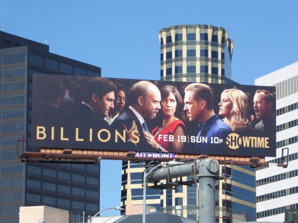Billions season 2 billboard