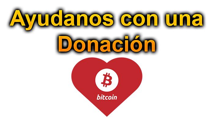 Ayúdanos con una donación! ~ Criptomonedas Rápido