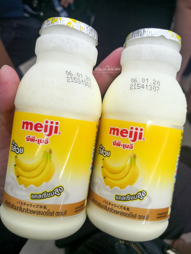 Review Susu Pisang Meiji