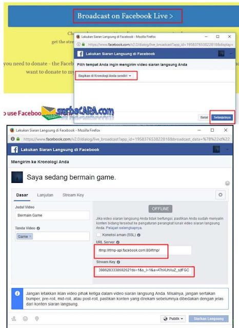 Siaran Langsung di Facebook
