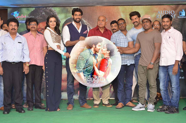Gajendrudu Latest Telugu Movie Audio Launch Highlights on Telugu Filmnagar, graced by Rana Daggubati. The latest 2017 Telugu movie ft. Arya and Catherine Tresa. Music by Yuvan Shankar Raja. Directed by Ragava. Produced by RB Choudary.