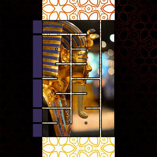 إسم (أحمد سامح) من تصميمي بالخط الكوفي المربع