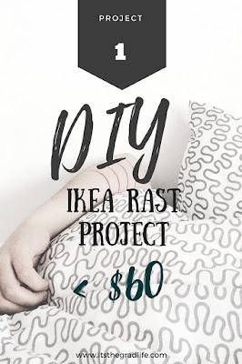 DIY IKEA Rast Dresser