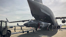 Lần Đầu Tiên Không Quân Giao Hàng Máy Chiến Đấu F-35 Thông Qua Vận Tải Cơ