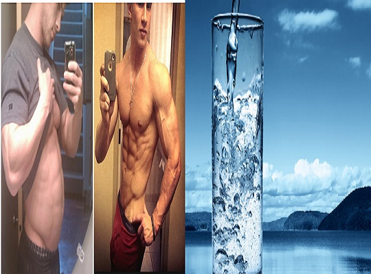 How to Lose 3KG of Water Weight in 2 days and Look Ripped / 4 steps