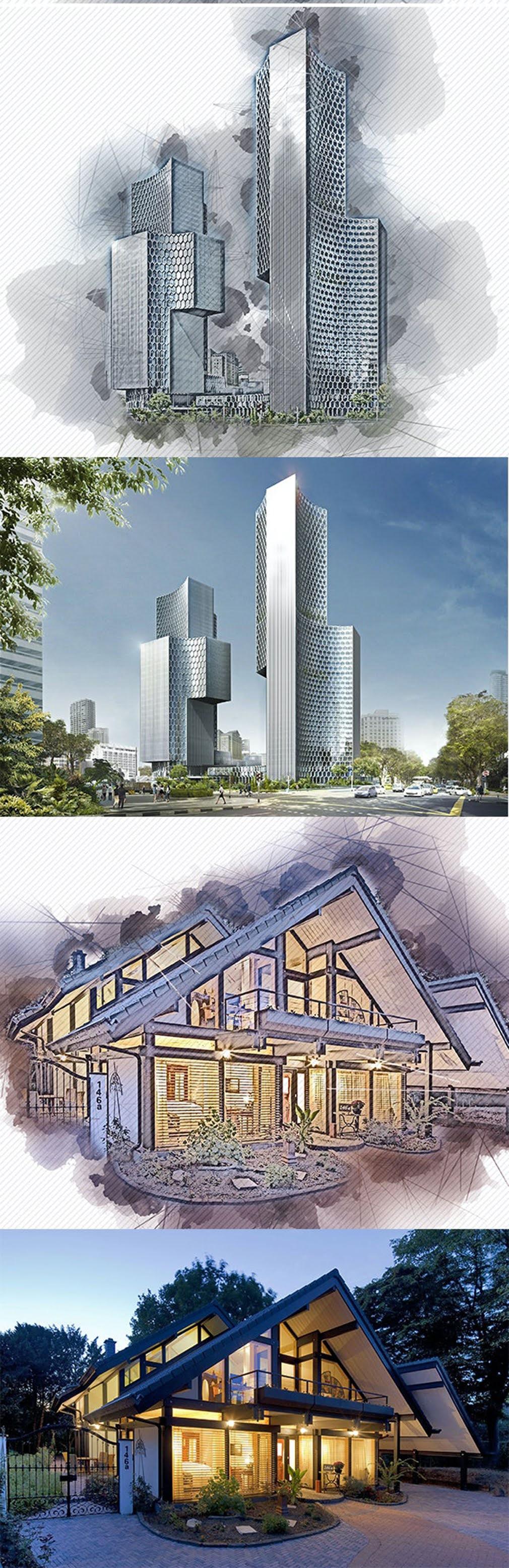 Architecture Photoshop Action 26555584