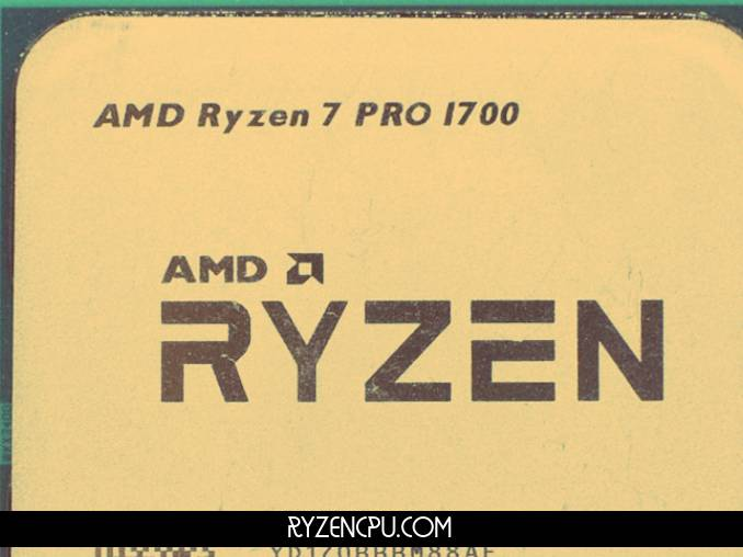 Ryzen 7 Pro 1700