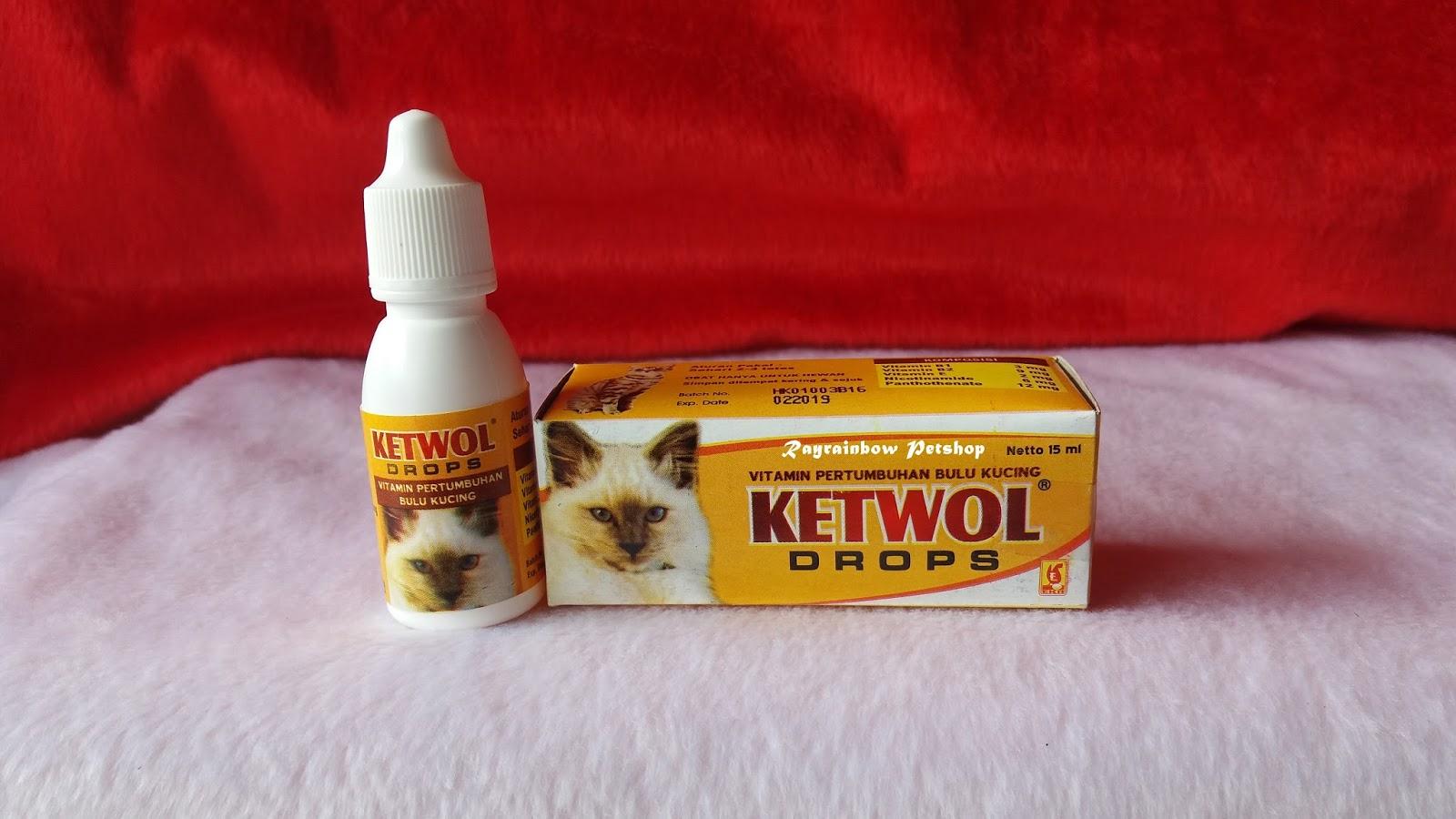 Ketwol Drops Obat Penumbuh Bulu Kucing