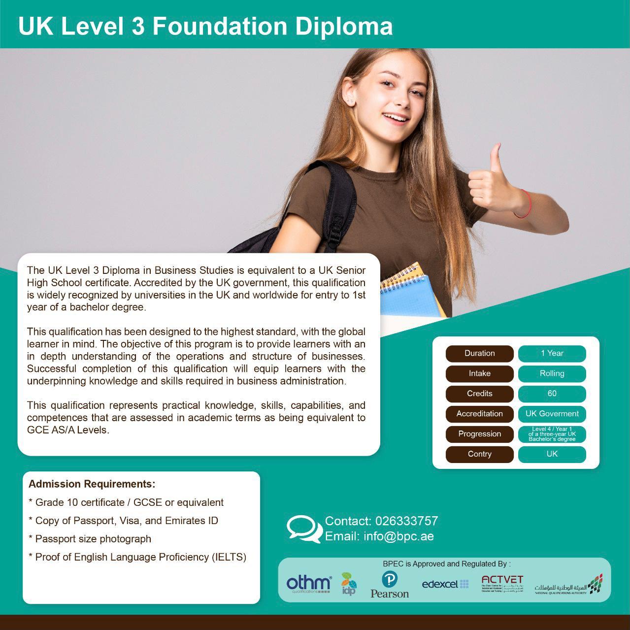 Undergraduate Courses In Abu Dhabi