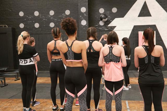 pink soda sport womens sportswear
