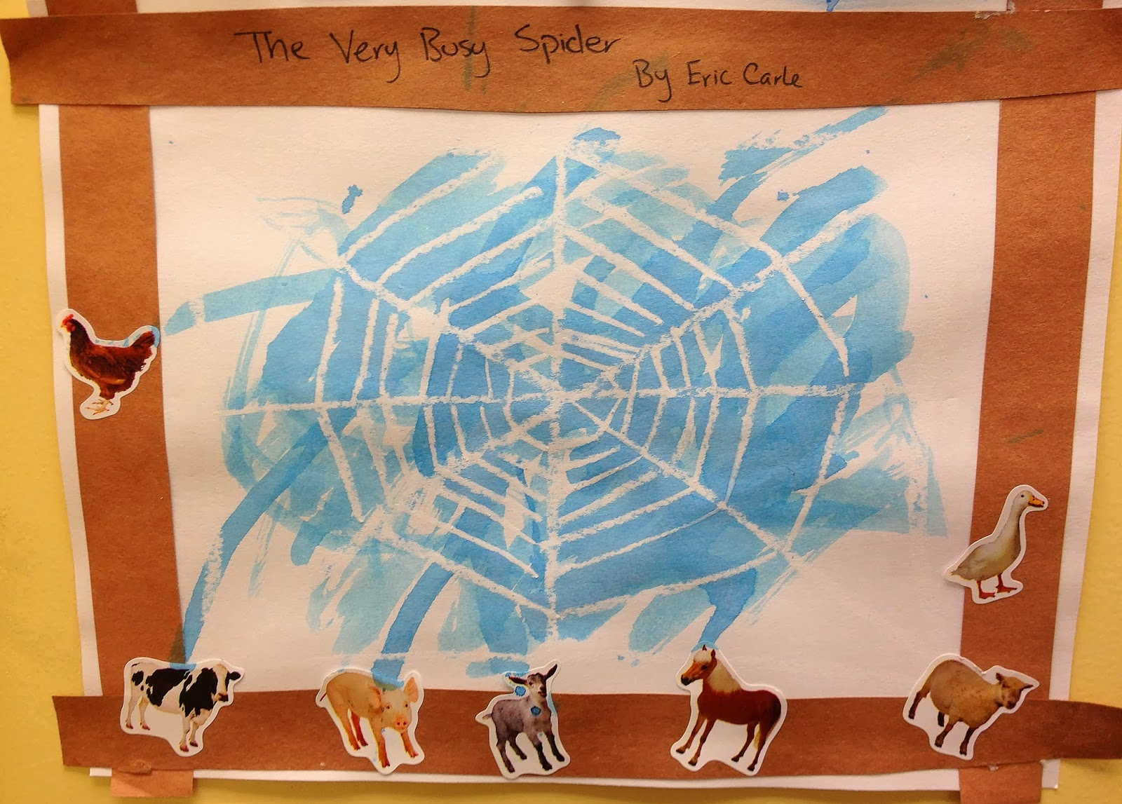 Preschool Ideas For 2 Year Olds The Very Busy Spider By