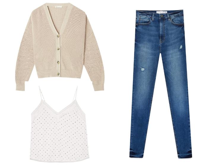 Gdzie kupować ubrania z dobrym składem - 3 wiosenne looki z sieciówki