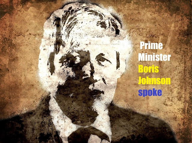 Prime Minister Boris Johnson spoke and sent a special message to the people during the broadcast
