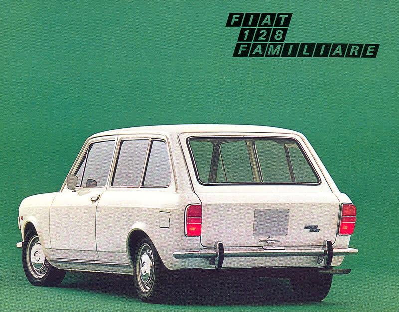 Revolution 1969 1980 Fiat 128 Familiarepanorama