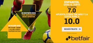 betfair supercuota Europa League Espanyol gana a Zorya 29 agosto 2019