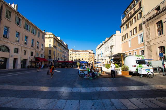 Place Thiars, Marsiglia