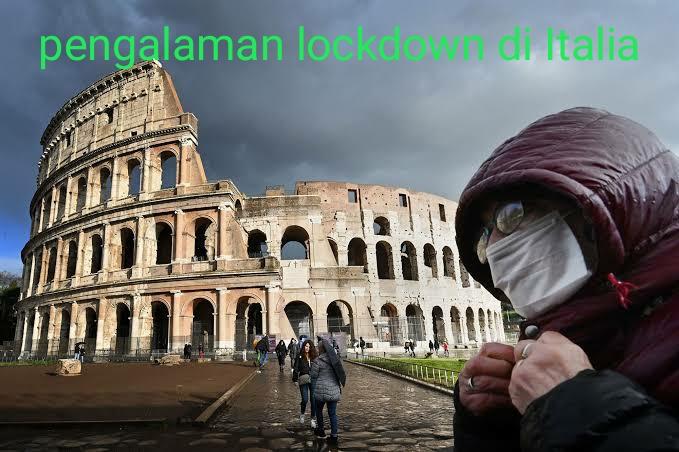 Pengalaman lockdown di Italia