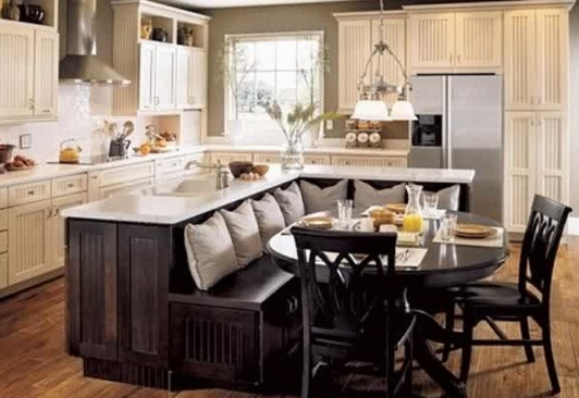 Placement kitchen furniture