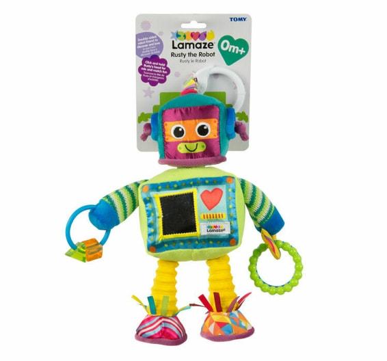 Jucarie Lamaze - Robotul Rusty cu activitati
