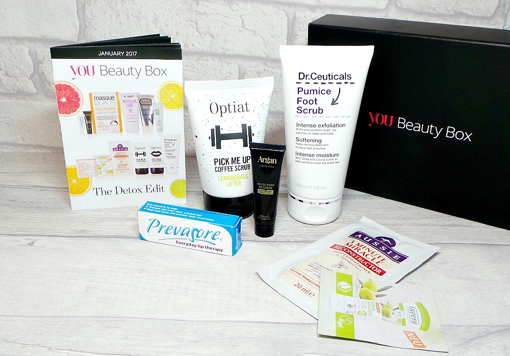 January 2017 You Beauty Box