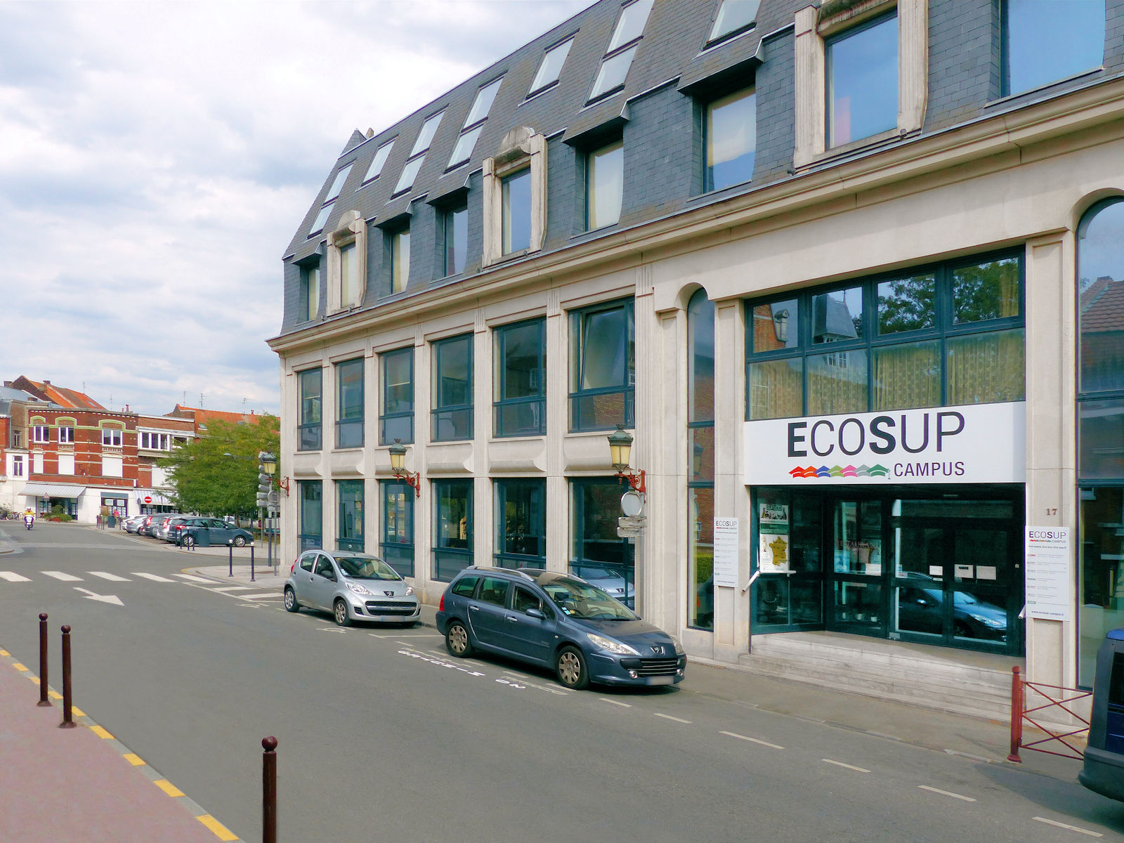 ECOSUP Campus - Place Roussel, Tourcoing
