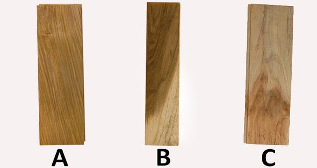 Lantai kayu jati grade A,B & C